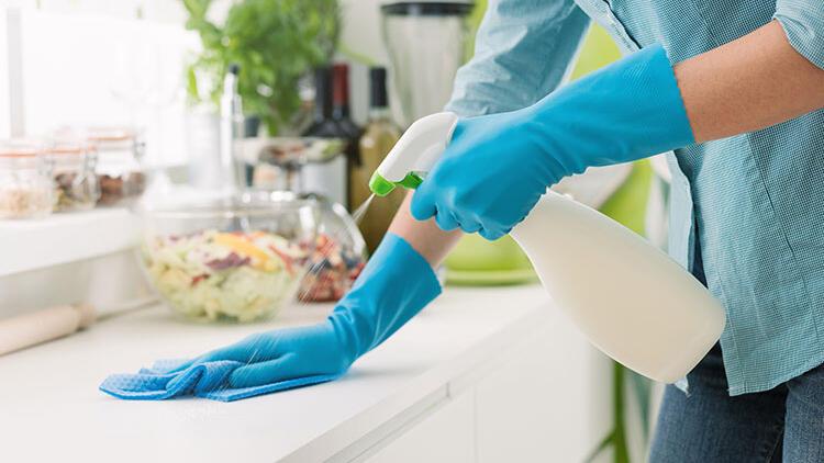 Mutfak tezgahı nasıl temizlenir?