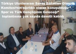 Türkiye Uluslararası Savaş Sanatları Olimpik Komitesi' TAM GAZ..!